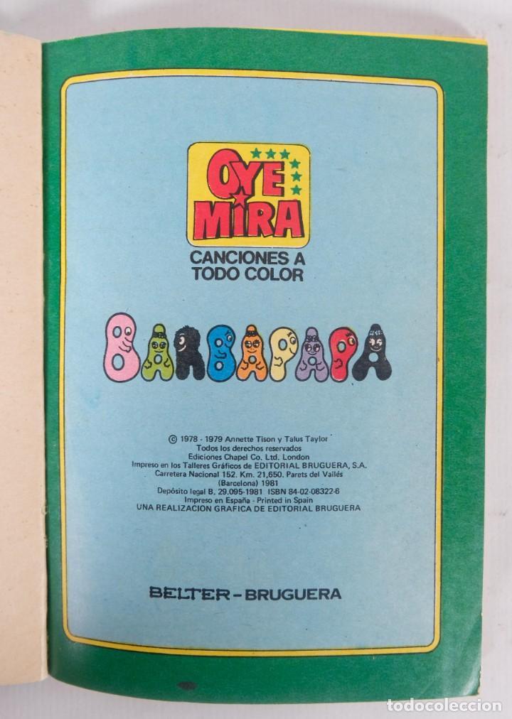 Tebeos: Oye Mira número 7 - Barbapapa - Editorial Bruguera 1981 - Foto 4 - 277284398