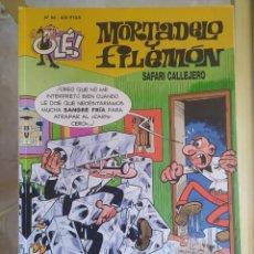 Livros de Banda Desenhada: OLÉ SAFARI CALLEJERO N.98 MORTADELO Y FILEMON. Lote 277499963