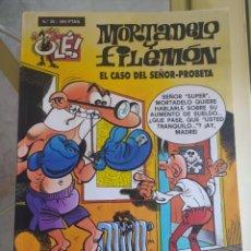 Livros de Banda Desenhada: OLÉ EL CASO DEL SEÑOR PROBETA N.35 MORTADELO Y FILEMON. Lote 277500328