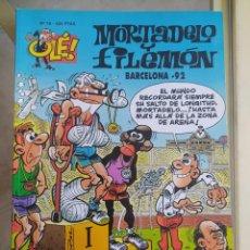 Livros de Banda Desenhada: OLÉ BARCELONA 92 N.76 MORTADELO Y FILEMON. Lote 277504253