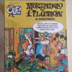 Livros de Banda Desenhada: OLÉ LA GOMEZTROIKA N.8 MORTADELO Y FILEMON. Lote 277504413