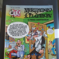 Livros de Banda Desenhada: OLÉ LA PRENSA CARDIOVASCULAR N.118 MORTADELO Y FILEMON. Lote 277507573