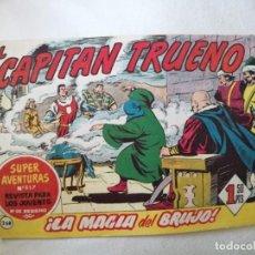 Tebeos: SUPER AVENTURAS Nº 517. EL CAPITAN TRUENO Nº 268. BRUGUERA. Lote 277512888