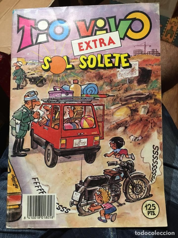 TÍO VIVO - EXTRA SOL SOLETE - BRUGUERA (Tebeos y Comics - Bruguera - Tio Vivo)