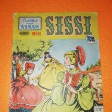 Tebeos: SISSI .CUENTOS PARA NIÑAS Nº 13 EDITORIAL BRUGUERA 1958 SUPLEMENTO DE LA REVISTA FEMENINA SISSI.. Lote 277576028