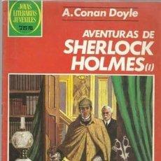 Tebeos: JOYAS LITERARIAS JUVENILES- Nº 266 -AVENTURAS DE SHERLOCK HOLMES-I-1983-J. VIVAS-BUENO-DIFÍCIL-5280. Lote 277581318