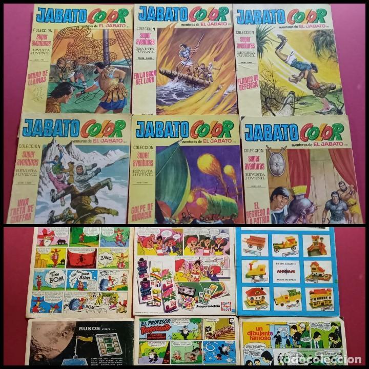 JABATO COLOR -NUMEROS: 93-95-104-105-106-111 (Tebeos y Comics - Bruguera - Jabato)
