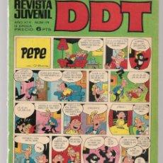 Tebeos: DDT. REVISTA JUVENIL. III ÉPOCA. Nº 178. LA ESFINGE DE LOS HIELOS. J.VERNE. EPIS. 1. BRUGUERA(C/A52). Lote 277589073