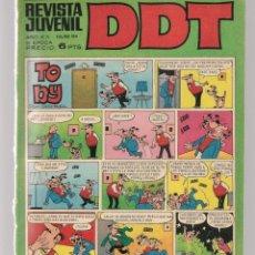 Tebeos: DDT. REVISTA JUVENIL. III ÉPOCA. Nº 184. LA ESFINGE DE LOS HIELOS. J.VERNE. EPIS. 7. BRUGUERA(C/A52). Lote 277589293