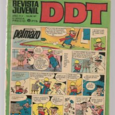 Tebeos: DDT. REVISTA JUVENIL. III ÉPOCA. Nº 186. EL LEÓN DE DAMASCO. E. SALGARI. EPIS. 2. BRUGUERA(C/A52). Lote 277589968
