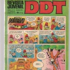 Tebeos: DDT. REVISTA JUVENIL. III ÉPOCA. Nº 190. EL LEÓN DE DAMASCO. E. SALGARI. EPIS. 5. BRUGUERA(C/A52). Lote 277590298