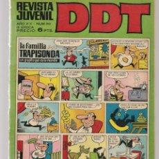 Tebeos: DDT. REVISTA JUVENIL. III ÉPOCA. Nº 193. EL LEÓN DE DAMASCO. E. SALGARI. EPIS. 8. BRUGUERA(C/A52). Lote 277590393