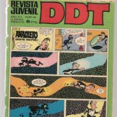 Tebeos: DDT. REVISTA JUVENIL. III ÉPOCA. Nº 199. TARAS BULBA. NICOLAS GOGOL. EPIS. 6. BRUGUERA(C/A52). Lote 277590638