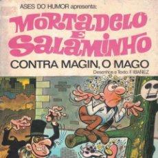 Tebeos: MORTADELO & SALAMINHO - CONTRA MAGIN O MAGO. Lote 277618663