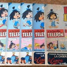 Tebeos: DIN DAN Nº 72, 75, 76, 77, 78 Y 79 (BRUGUERA 1ª EPOCA 1966) 6 TEBEOS.. Lote 243581270