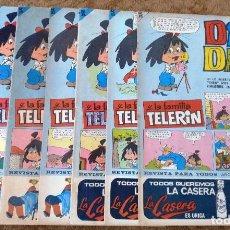 Tebeos: DIN DAN Nº 80, 81, 82, 84, 85, 86 Y 88 (BRUGUERA 1ª EPOCA 1966) 7 TEBEOS.. Lote 268024124
