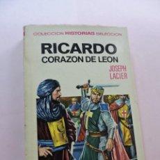 Tebeos: RICARDO CORAZÓN DE LEÓN. LACIER, JOSEPH. COLECCIÓN HISTORIAS SELECCIÓN BRUGUERA 1967. Lote 277678138