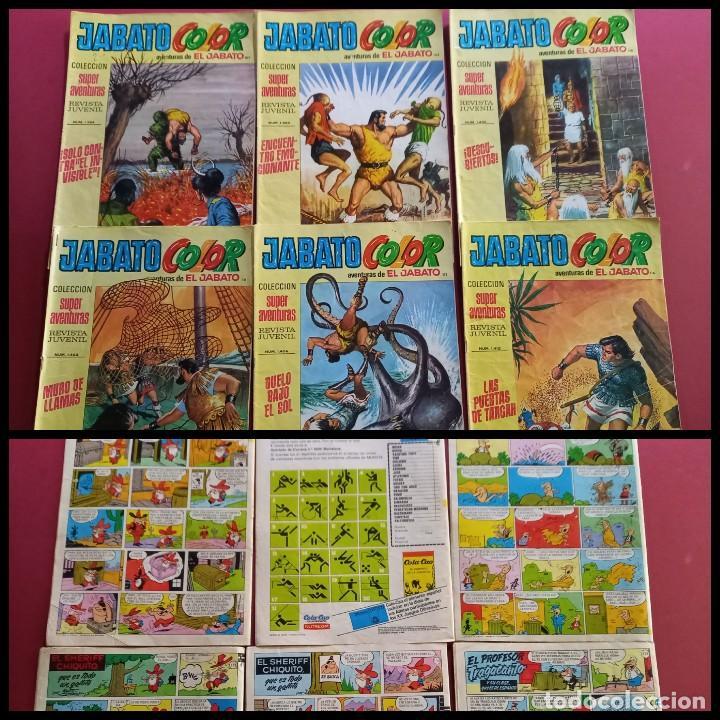 EL JABATO COLOR NUMEROS : 107-108-110-111-112-116- ( C.A ) (Tebeos y Comics - Bruguera - Jabato)