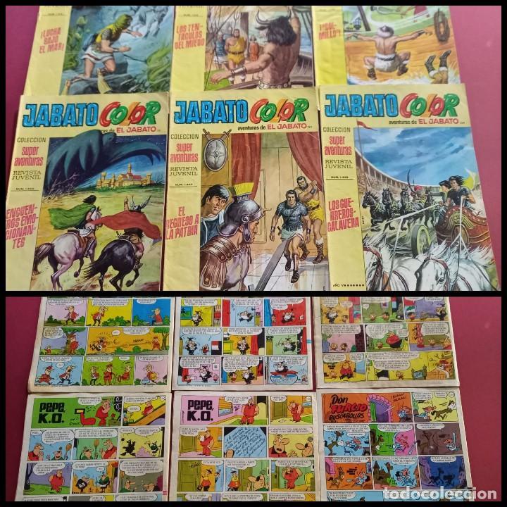 EL JABATO COLOR NUMEROS : 117-118-120-121-122-134 ( C.A ) (Tebeos y Comics - Bruguera - Jabato)