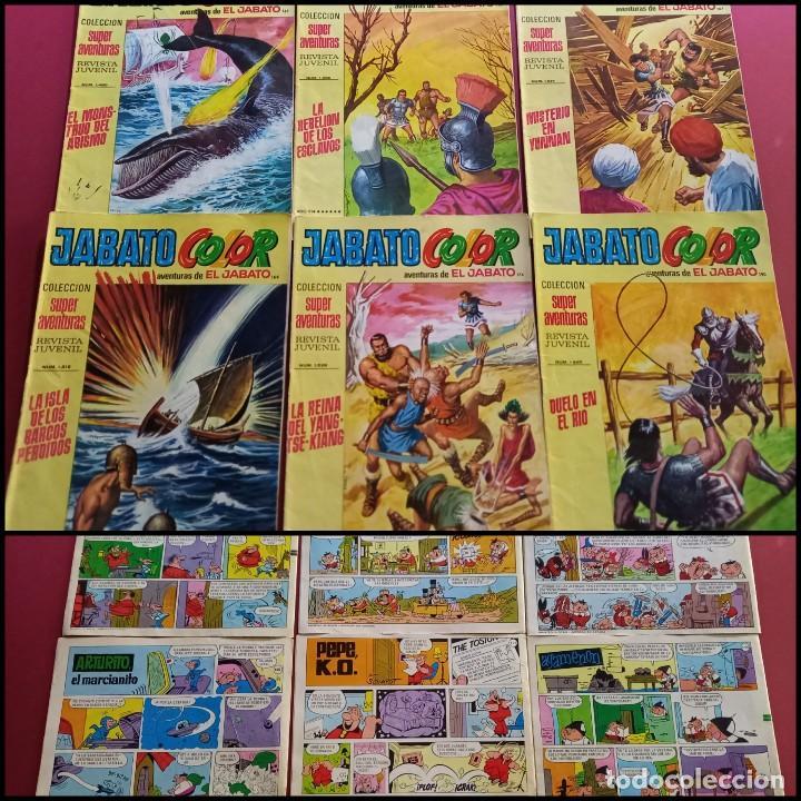 EL JABATO COLOR NUMEROS : 135-158-166-167-174-190 ( C.A ) (Tebeos y Comics - Bruguera - Jabato)