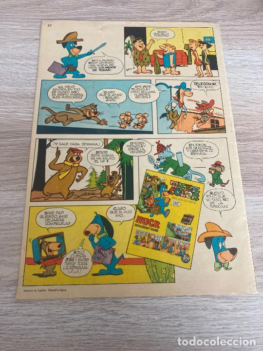 Tebeos: EL JABATO EXTRA Nº 37. ORIGINAL. BRUGUERA 1963 - Foto 2 - 277697338