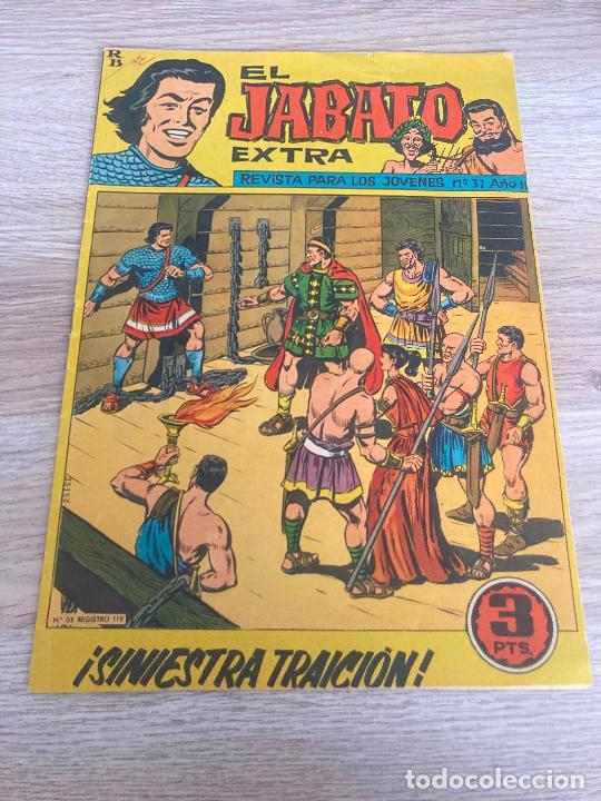 EL JABATO EXTRA Nº 37. ORIGINAL. BRUGUERA 1963 (Tebeos y Comics - Bruguera - Jabato)