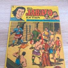 Tebeos: EL JABATO EXTRA Nº 37. ORIGINAL. BRUGUERA 1963. Lote 277697338