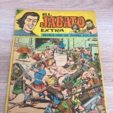Tebeos: EL JABATO EXTRA Nº 51. ULTIMO NUMERO DE LA COLECCION Y ORIGINAL. BRUGUERA 1963. Lote 277697463