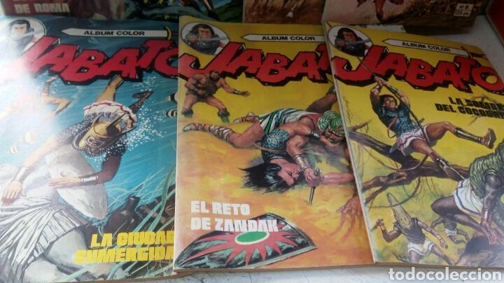 Tebeos: JABATO Y CAPITÁN TRUENO ÁLBUM COLOR LOTE 11 EJEMPLARES. BRUGUERA - Foto 3 - 277701463