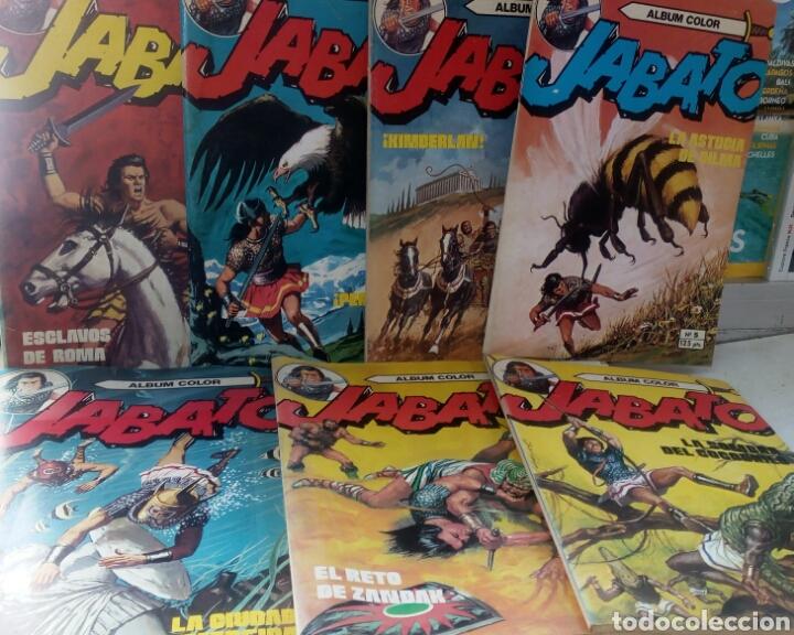 JABATO Y CAPITÁN TRUENO ÁLBUM COLOR LOTE 11 EJEMPLARES. BRUGUERA (Tebeos y Comics - Bruguera - Jabato)