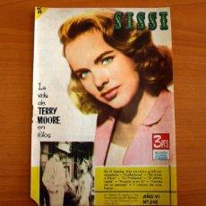 Tebeos: SISSI - REVISTA JUVENIL FEMENINA. Nº 248, TERRY MOORE - EDITORIAL BRUGUERA AÑO 1963 - VER FOTOS..... Lote 277735198