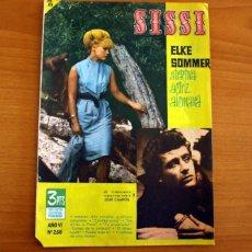 Tebeos: SISSI -REVISTA JUVENIL FEMENINA. Nº 256, ELKE SOMMER -EDITORIAL BRUGUERA AÑO 1963 -VER FOTOS..... Lote 277735398