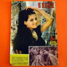 Tebeos: SISSI - Nº 249 LA VIDA DE CLAUDIA CARDINALE - REVISTA JUVENIL FEMENINA - EDITORIAL BRUGUERA 1963. Lote 277736443