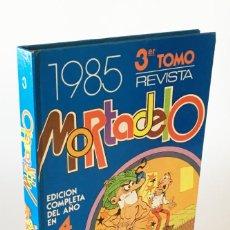 Tebeos: REVISTA MORTADELO, EDICIÓN COMPLETA DEL AÑO 1985 PARA COLECCIONISTAS, TOMO 3 - EDITORIAL BRUGUERA -. Lote 277832053