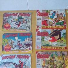 Tebeos: LOTE DE 6 COMICS, COMICS CAPITAN TRUENO, AÑOS 60.. Lote 277841593