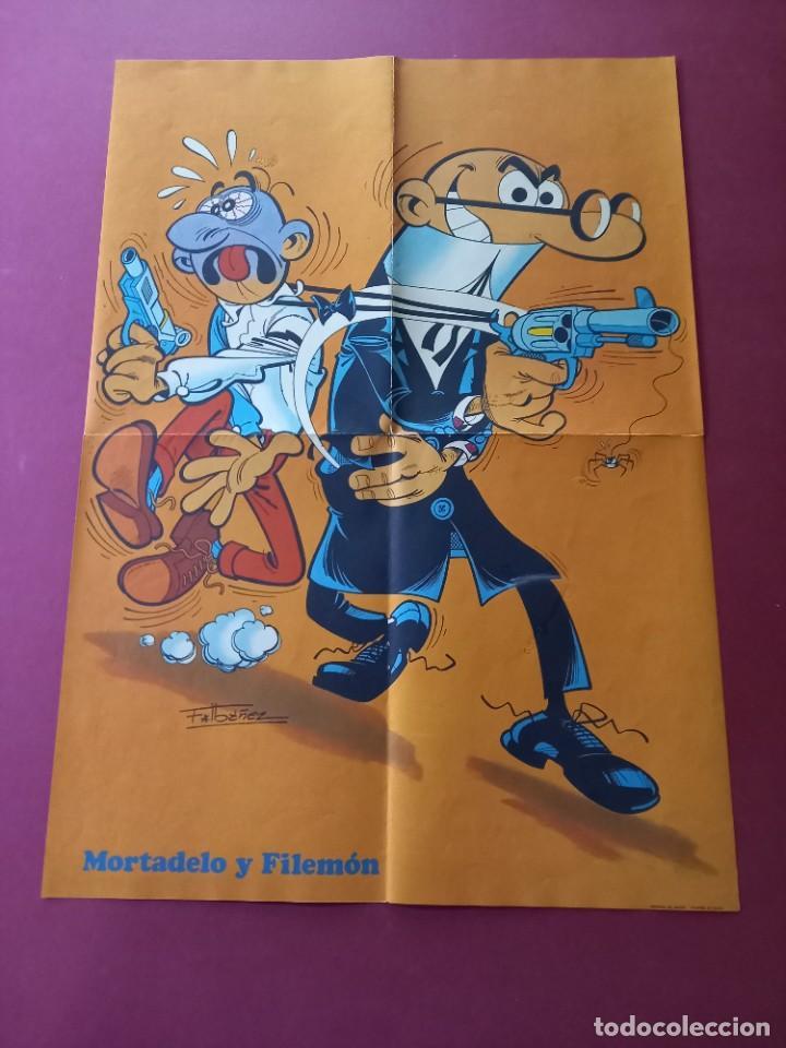 PÓSTER SUPER MORTADELO Nº 1. 51X36 CMS. BRUGUERA -EXCELENTE ESTADO ( C.B) (Tebeos y Comics - Bruguera - Mortadelo)