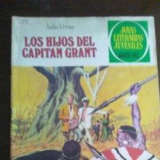 Tebeos: LOS HIJOS DEL CAPITAN GRANT - JOYAS LITERARIAS JUVENILES. Lote 278169413