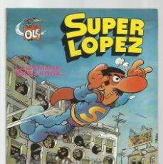 Tebeos: SUPER LOPÈZ 6: LA SEMANA MÁS LARGA..., 1981, BRUGUERA, PRIMERA EDICIÓN, MUY BUEN ESTADO. Lote 278200158