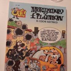 Tebeos: COMIC MORTADELO Y FILEMON COLECCION OLÉ 196 EL COCHE ELECTRICO. Lote 278209033