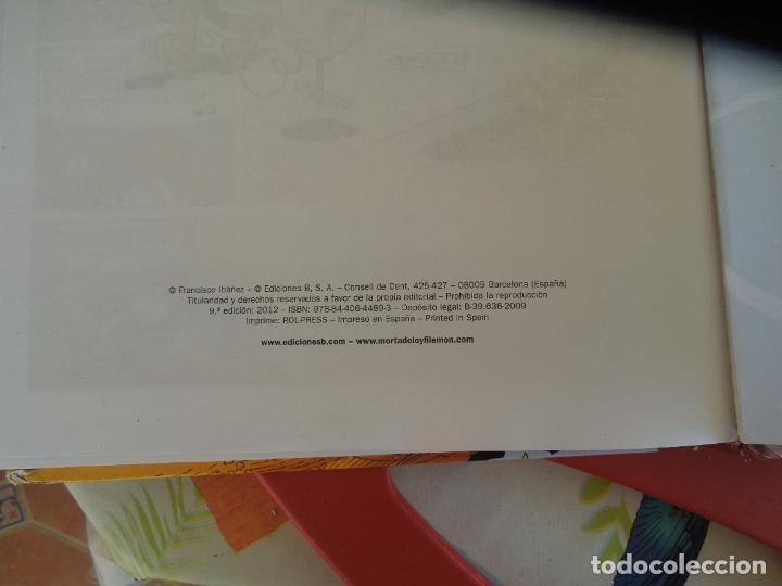 Tebeos: SUPER HUMOR Nº 11 MORTADELO Y FILEMON . EDC- B 2012 - Foto 2 - 278235558