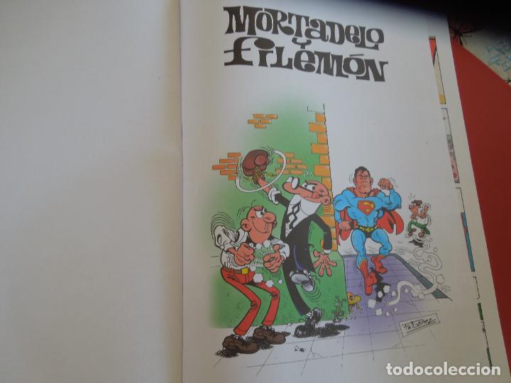 Tebeos: SUPER HUMOR Nº 11 MORTADELO Y FILEMON . EDC- B 2012 - Foto 3 - 278235558
