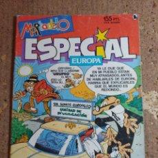 Tebeos: COMIC DE MORTADELO ESPECIAL EUROPA DEL AÑO 1986 Nº 208. Lote 278236208