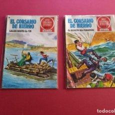 Tebeos: ELCORSARIO DE HIERRO NUMEROS :8 Y 45 -BUEN ESTADO ( EST). Lote 278319708