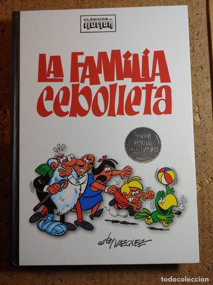 COMIC TOMO CLASICOS DEL HUMOR LA FAMILIA CEBOLLETA EDICION ESPECIAL COLECCIONISTAS (Tebeos y Comics - Bruguera - Otros)