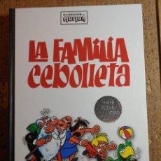 Tebeos: COMIC TOMO CLASICOS DEL HUMOR LA FAMILIA CEBOLLETA EDICION ESPECIAL COLECCIONISTAS. Lote 278377753