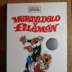 Tebeos: COMIC TOMO CLASICOS DEL HUMOR MORTADELO Y FILEMON I EDICION ESPECIAL COLECCIONISTAS. Lote 278378458