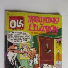Tebeos: OLE ! MORTADELO Y FILEMON Nº Nº 105 BRUGUERA ARX120. Lote 278390618