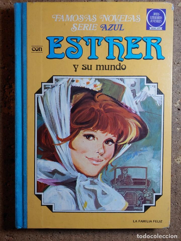 COMIC TOMO DE FAMOSAS NOVELAS AZUL CON ESTHER Y SU MUNDO Nº 4 (Tebeos y Comics - Bruguera - Esther)