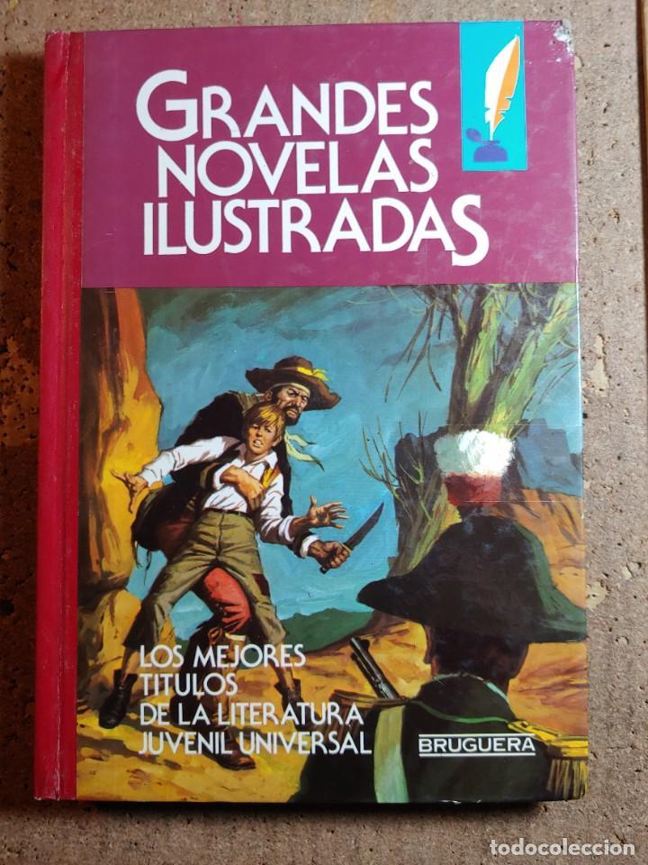 COMIC TOMO DE GRANDES NOVELAS ILUSTRADAS Nº 9 (Tebeos y Comics - Bruguera - Otros)