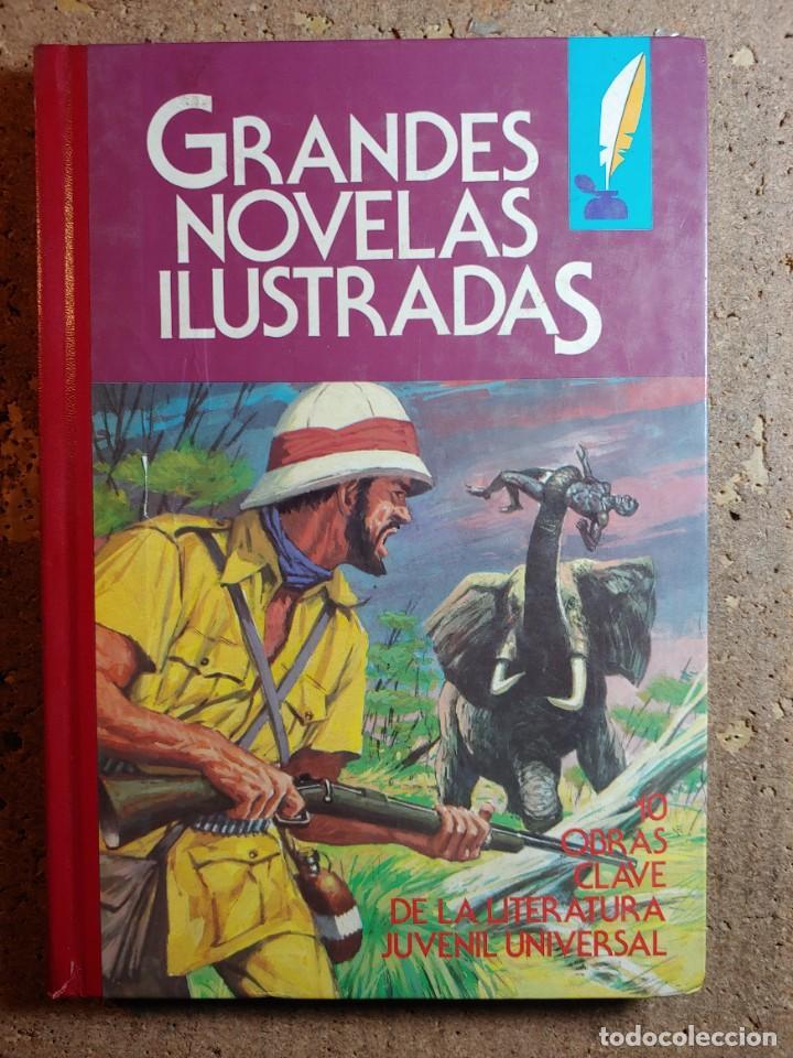 COMIC TOMO DE GRANDES NOVELAS ILUSTRADAS Nº 2 (Tebeos y Comics - Bruguera - Otros)